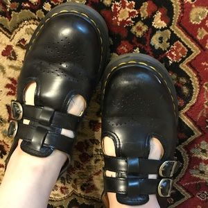 Dr. Martens 8065 Mary Jane Smooth Black